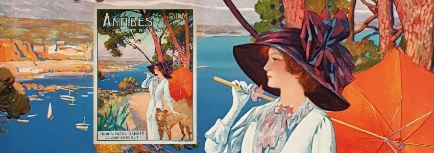Tourisme France Affiche française de tourisme, affiches faisant la promotion de station balnéaire, station touristique, stat